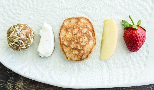 Natural ingredients for pancakes